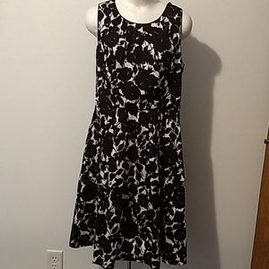 Talbots fit and flare dress